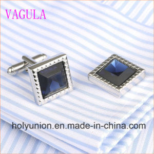 VAGULA Gemelos Men French Shirt Diamond Cuff Links 339 pictures & photos