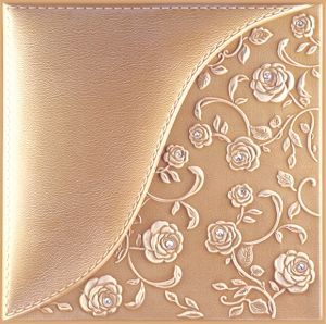 3D PU Leather Wall Panel 1007-3 for Modern Interior Decoration pictures & photos