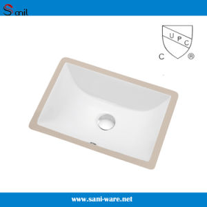 Cupc Ceramic Undermount Sink with Overflow (SN015) pictures & photos