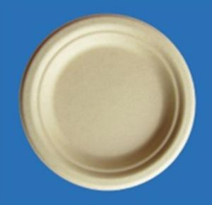 Biodegradable Eco-Friendly 6.75 Inch Bamboo Pulp Plate pictures & photos