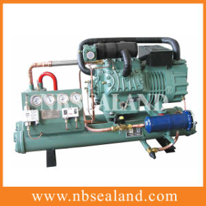 Open Type Bitzer Water Cooled Condensing Unit pictures & photos