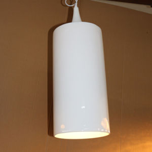 European Hotel Decorative Glass Firbe Shiny White Resin Pendant Lamp pictures & photos