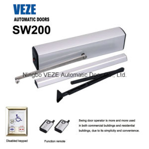 Veze Aluminium Automatic Swing Door for Commercial Use pictures & photos