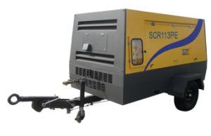 Diesel Engine Portable /Mobile /Screw Air Compressor (SCR210PD) pictures & photos