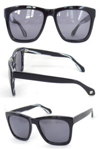 Fashion Acetate Sunglasses/ Sun Glasses for Unisex /Sun Glasses with Metal Decoration pictures & photos