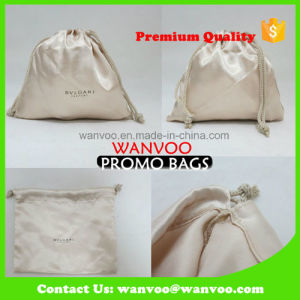 Jewellery Wedding Gift Drawstring Satin Bag for Promotion pictures & photos