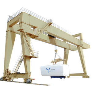 Lifting Equipment Electric Double Girder Gantry Crane pictures & photos
