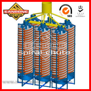 Spiral Chute Mineral Separation Machine Gold Mining Equipment for Sale pictures & photos