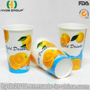 12oz Free Samples Cold Beverage Paper Cup for Juice pictures & photos
