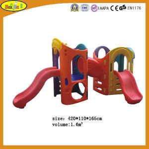 Eight in One Children Plastic Slide in Preschool with Blow Molding
