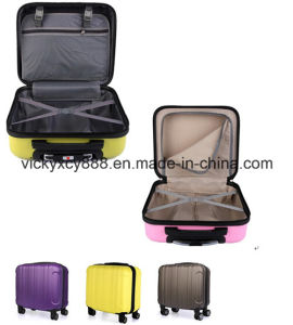 ABS Children Wheeled Trolley Luggage Travel Boarding Case Bag (CY5921) pictures & photos