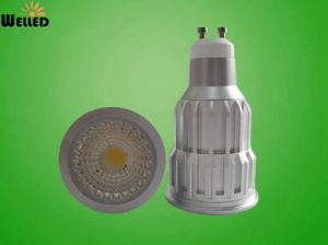 Dimmable 10W LED GU10 Spotlight with CREE COB LED Light pictures & photos