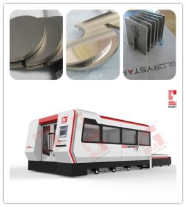 Fiber Metal Laser Cutting Machine with Ipg Laser Source (GS-3015CE) pictures & photos