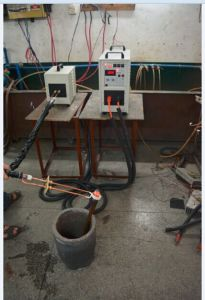 High Frequency Induction Heater (HF-25AB) pictures & photos