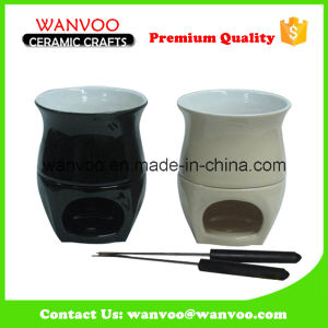 Various Color/Size Cheap Stoneware Customized Fondue Set pictures & photos