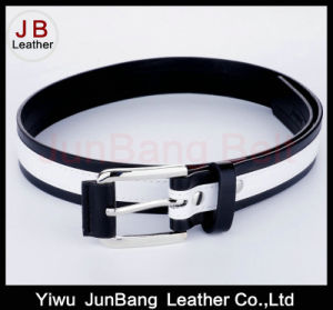 Covered Buckle PU Leather Belt pictures & photos