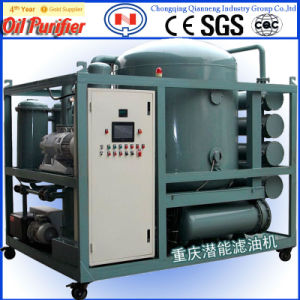 Best Selling Zyd Two-Stage Highly Efficient Vacuum Oil Purifier for Waste Transformer Oil
