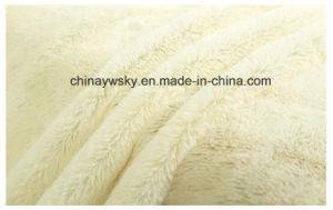 Lush Material Fabrics/Knitted Plush Fabric/PV Fleece Fabrics pictures & photos
