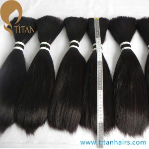 """8""""-12"""" Natural Black Inidan Remy Human Hair Bulk for Toupee pictures & photos"""