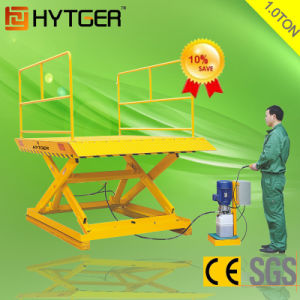 2ton Stationary Hydraulic Scissor Lift Aerial Work Platform Lift (SJG20) pictures & photos