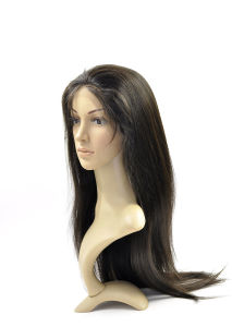 180% Thick Density and Straight 100% Virgin Hair Full Lace Wig pictures & photos