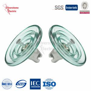 U160 80kn Toughened Suspension Disk Glass Insulator IEC