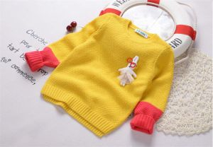 T11911 Hot Sale Cotton Thick Fashion Baby & Kids Clothes Gentle Boy Sweater Pullover Knitted Shirt Long Sleeve Children Tops Manufacturer pictures & photos