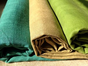 Lightweight/Heavy Weight Linen Cotton Fabric for Clothes
