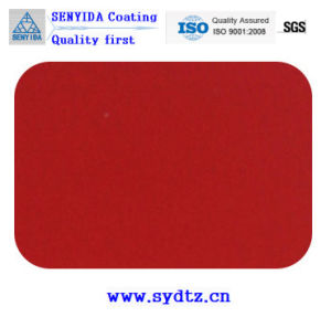 Powder Coating Paint of Fluorescent Transparent Red pictures & photos