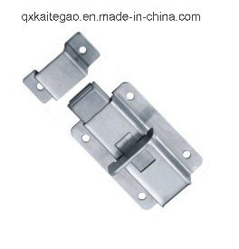 Satin Finish Stainless Steel Flush Bolt for Wood Door (KTG-206A) pictures & photos