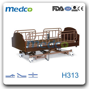 Electric Three-Function Home Care Hospital Beds pictures & photos