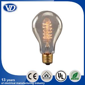 Vintage Carbon Filament Edison Bulb A23