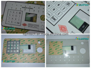 Embossed Buttons Membrane Keypad with Metal Domes Waterproof Shielding Layer pictures & photos