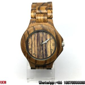 Top-Quality Zebra-Wooden Watches Quartz Watches pictures & photos