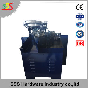 Wire Collated Nail Making Ring Shank Threading Machine