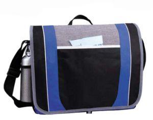 Fashion Polyester Laptop Customer Logos Messenger Bags Sh-16051054 pictures & photos