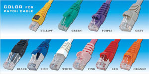 CAT6 FTP Patch Cable in Various Color pictures & photos