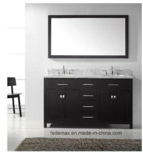 Solid Wooden Bathroom Vanity Cabinet