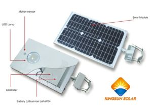 15W Integrated Solar LED Street Light pictures & photos