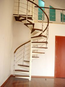 Stainless Steel Spiral Stairs Ritz Spiral Staircase