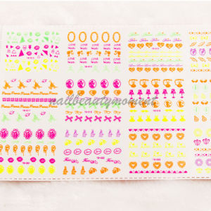 3D Neon Nail Art Sticker Accessories Beauty Products (NPP05) pictures & photos