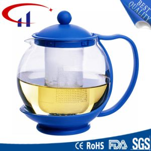 Handmade High-Quanlity Best-Sell Borosilicate Glass Teapot (CHT8078) pictures & photos