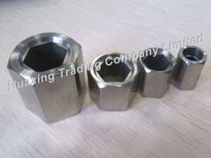 Stainless Steel Hexagonal (inside) Nut / Sleeve Space Frame Components 19/13