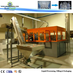 Full-Automatic Plastic Blow Moulding Machine Two Cavity pictures & photos