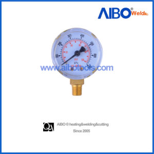 Common Pressure Gauges with Brass Thread (2W17112) pictures & photos
