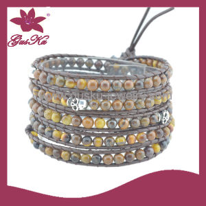 Unique Fashion Handmade Woven Beads Bracelet (2015 Wvb-039) pictures & photos