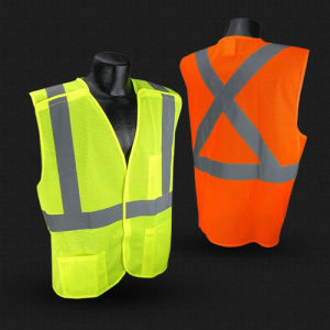 Reflective Safety Vest with ANSI/Isea107 Certificate pictures & photos