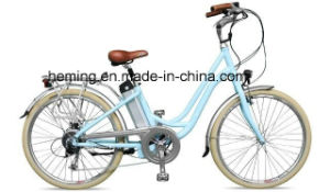 700cc Lithium Battery City Electric Bicycle pictures & photos