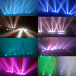 8X10W Movinghead LED Stage Spider Beam Light pictures & photos