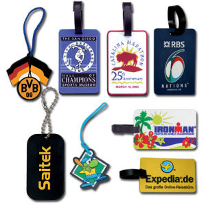 Wholesale Colorful Rubber Silicone Luggage Tag with Printing Custom Logo pictures & photos